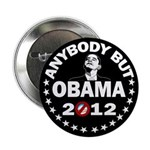 """Anybody but Obama 2.25"""" Button (100 pack)"""