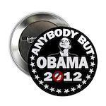 "Anybody but Obama 2.25"" Button"