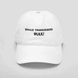 BRAILLE TRANSCRIBERS Rule! Cap