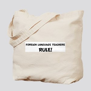 FOREIGN LANGUAGE TEACHERS Rul Tote Bag