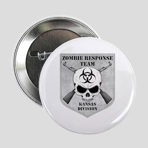 """Zombie Response Team: Kansas Division 2.25"""" Button"""