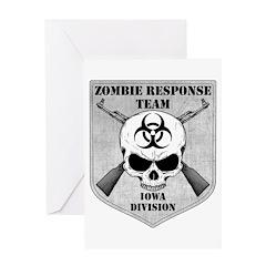 Zombie Response Team: Iowa Division Greeting Card