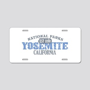 Yosemite National Park Califo Aluminum License Pla
