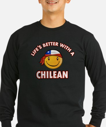 Life's better with a Chilean T