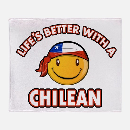 Life's better with a Chilean Throw Blanket