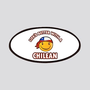 Life's better with a Chilean Patches
