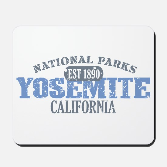 Yosemite National Park Califo Mousepad