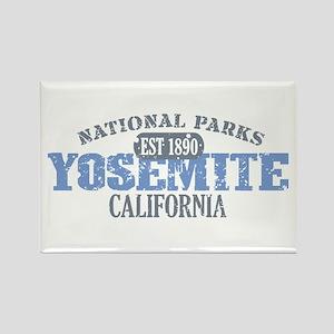 Yosemite National Park Califo Rectangle Magnet