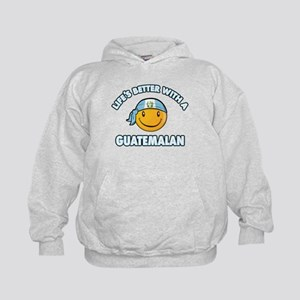 Life's better with a Guatemalan Kids Hoodie