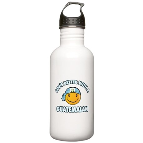 Life's better with a Guatemalan Stainless Water Bo