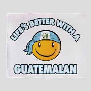 Life's better with a Guatemalan Throw Blanket