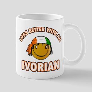 Life's better with a Ivorian Mug