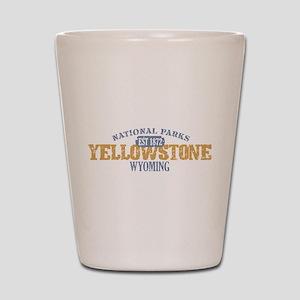 Yellowstone National Park WY Shot Glass