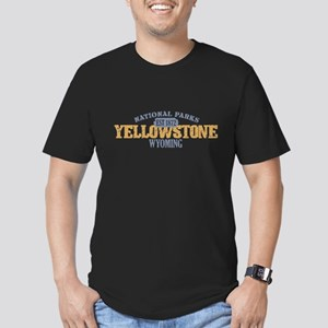 Yellowstone National Park WY Men's Fitted T-Shirt