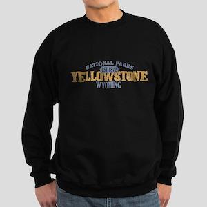 Yellowstone National Park WY Sweatshirt (dark)