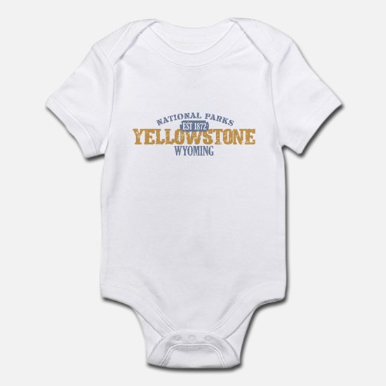 Yellowstone National Park WY Infant Bodysuit