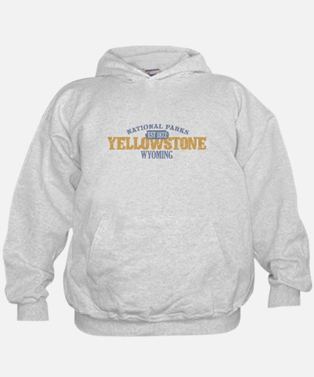 Yellowstone National Park WY Hoody