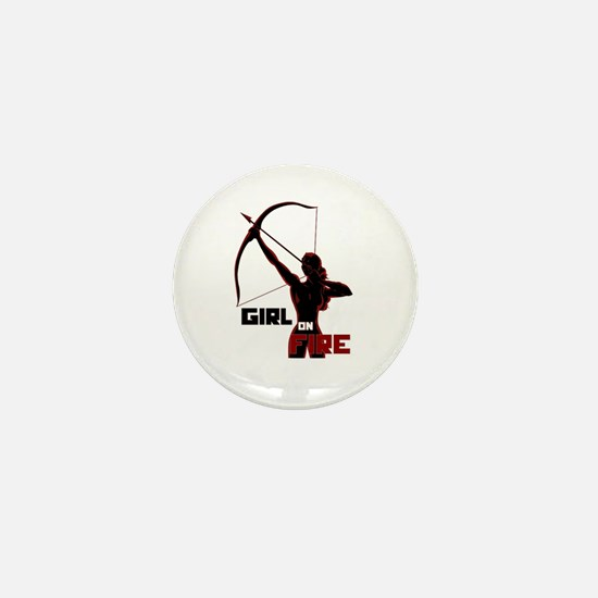 Katniss Girl on Fire Mini Button