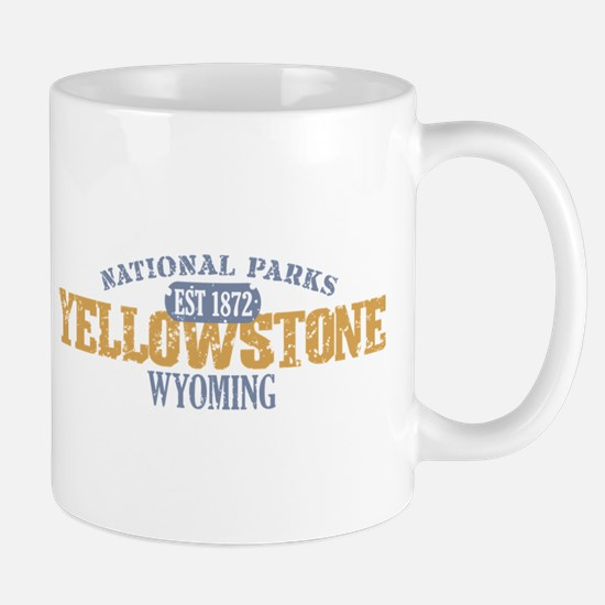 Yellowstone National Park WY Mug