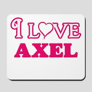 I Love Axel Mousepad