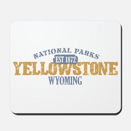 Yellowstone National Park WY Mousepad