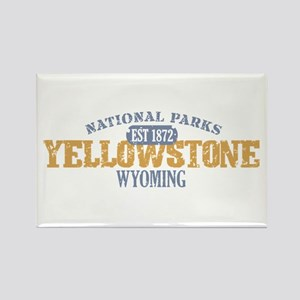 Yellowstone National Park WY Rectangle Magnet