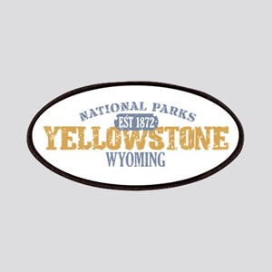 Yellowstone National Park WY Patches