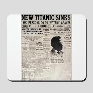 New Titanic Sinks Mousepad
