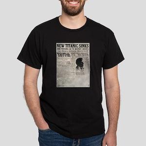 New Titanic Sinks Dark T-Shirt