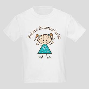 Future Acupuncturist Girl Kids Light T-Shirt