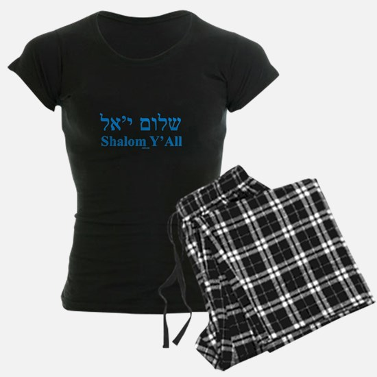 Shalom Y'All English Hebrew Pajamas
