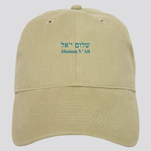 Shalom Y'All English Hebrew Cap