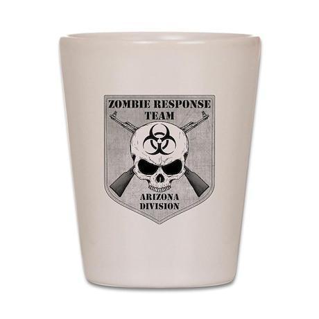 Zombie Response Team: Arizona Division Shot Glass