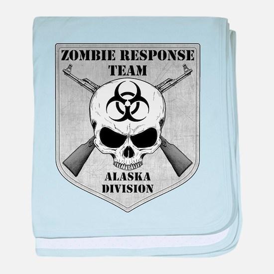 Zombie Response Team: Alaska Division baby blanket