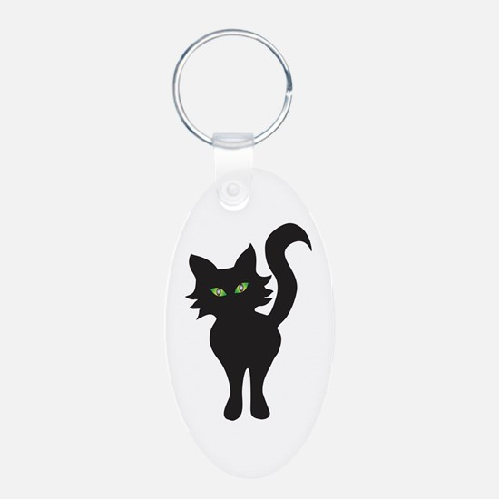 Black Cat Keychains