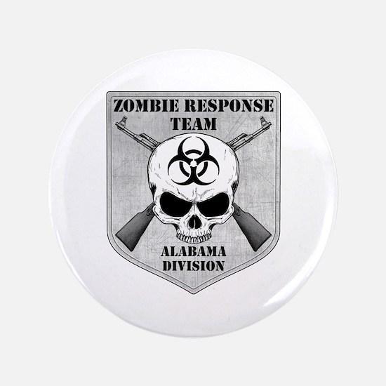 "Zombie Response Team: Alabama Division 3.5"" Button"