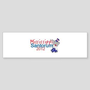 Santorum MISSISSIPPI Sticker (Bumper)