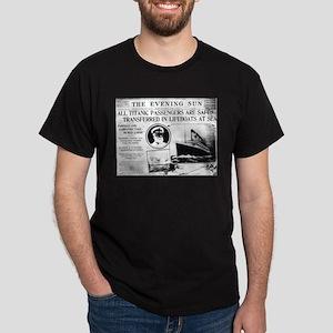 All Passengers Safe! Dark T-Shirt