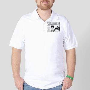 All Passengers Safe! Golf Shirt