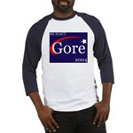 RE-ELECT GORE 2004 Baseball Jersey