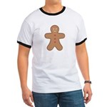 Gingerbread Man Ringer T