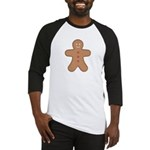 Gingerbread Man Baseball Jersey