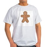 Gingerbread Man Ash Grey T-Shirt