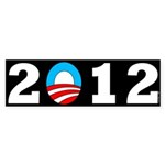 2012 b Sticker (Bumper 50 pk)