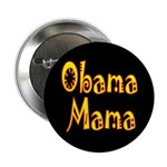 Obama Mama Dark Button