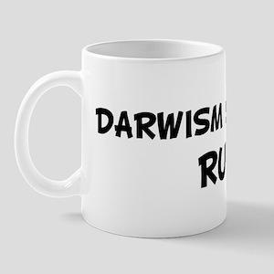 DARWISM STUDENTS Rule! Mug