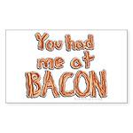 Bacon Sticker (Rectangle)