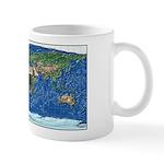 Wold Map Equidistant 3: Mug