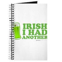 Irish I Had Another Journal