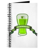 St Patrick's Day Beer Banner Journal